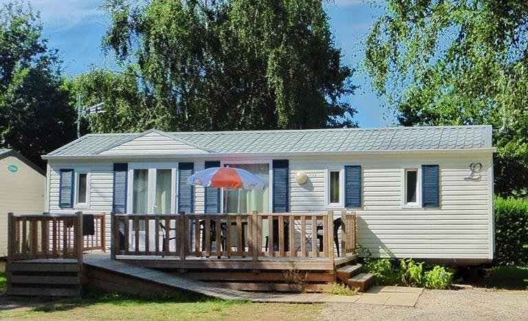 Mobil home 6 personnes - Camping familial, vacation rental in Quimperle