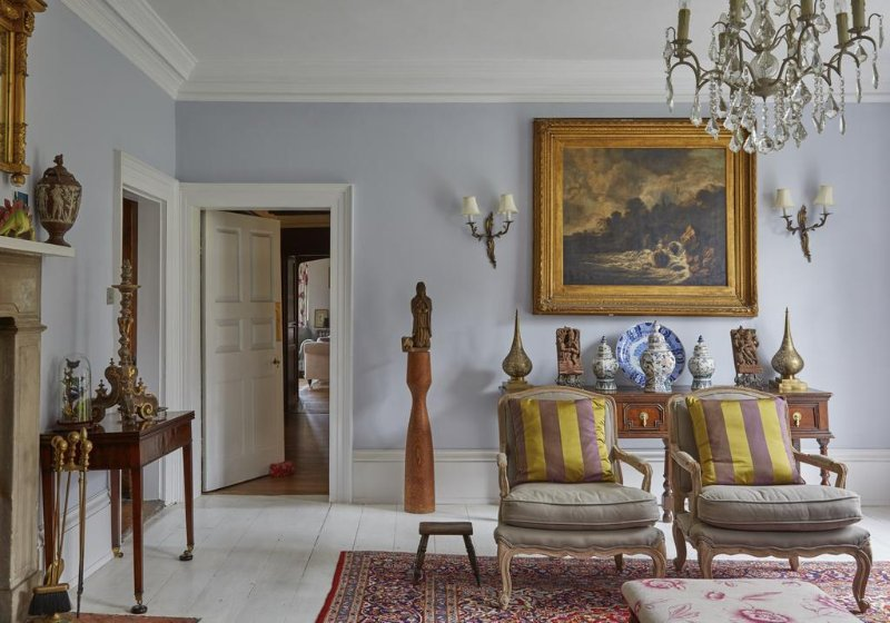 A view from the Blue Drawing Room, through the Little Parlour to the Morning Room beyond