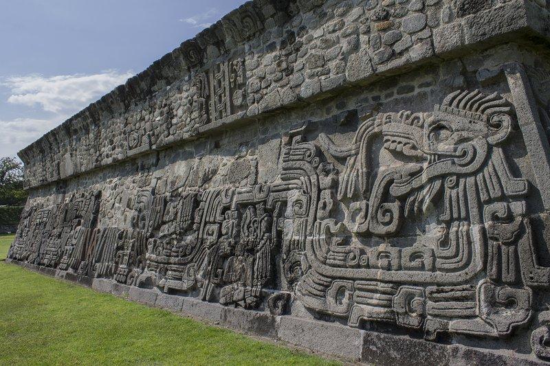 La UNESCO Sitio de Xochicalco / patrimonio de la humanidad de Xochicalco