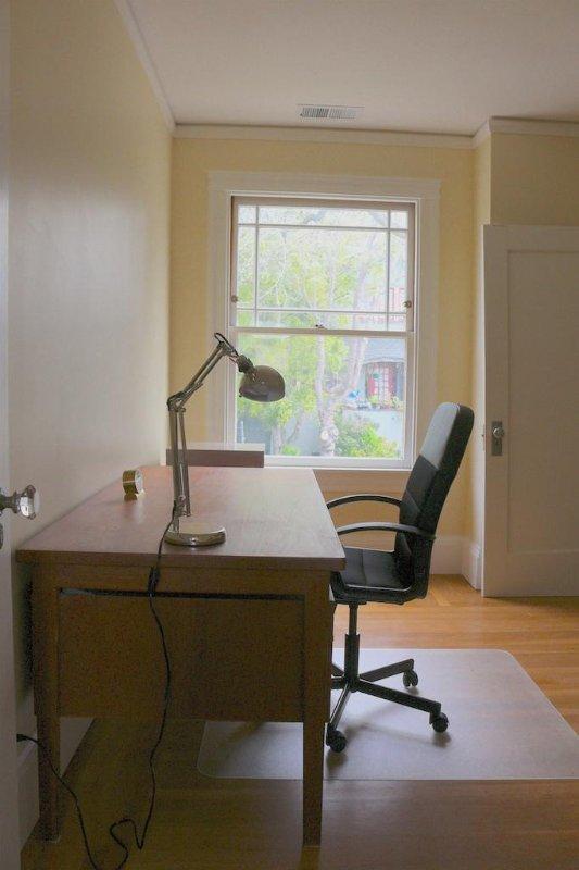 Rustige en zonnige kantoor