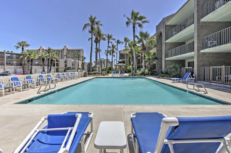 Look forward to many perfect pool days at the community pool!