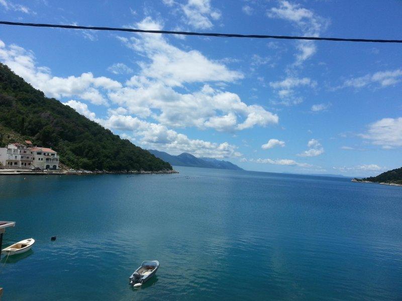 propiedad única, primera fila en el hermoso mar Adriático a tu alrededor