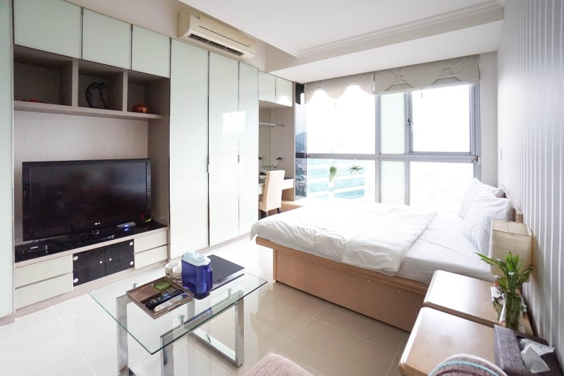 Super Studio with Taipei 101 view, vakantiewoning in Da'an