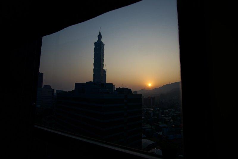 enjoy sunrise from your window