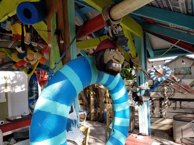 Key West stijl recreatiegebied Funky fun