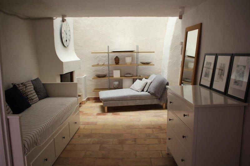 zona spogliatoio seconda camera da letto