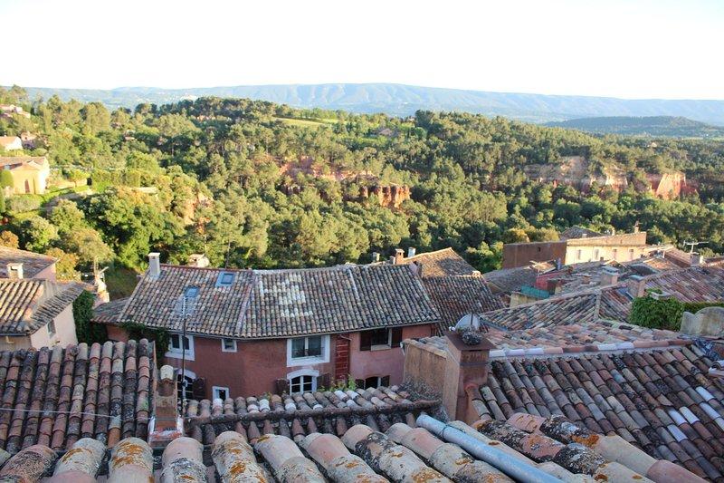 Vista dalla terrazza sul tetto