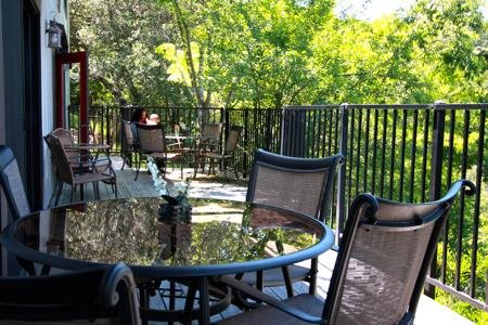Lower Level deck - all lower floor bedrooms break out onto this large deck w/ plenty of seating!