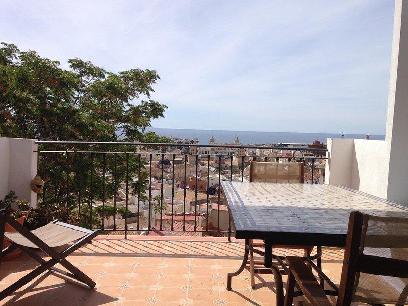 Vista do terraço E LOUNGE