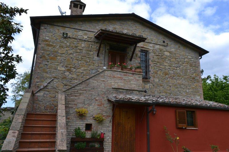 B&B 'Al Castello di Morleschio', holiday rental in Piccione