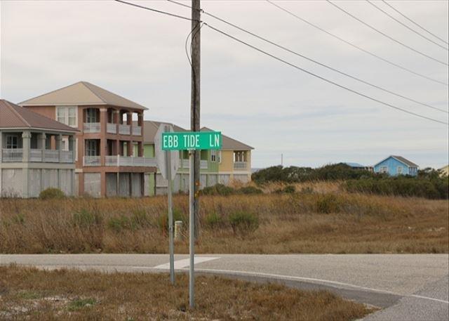 Beach access road