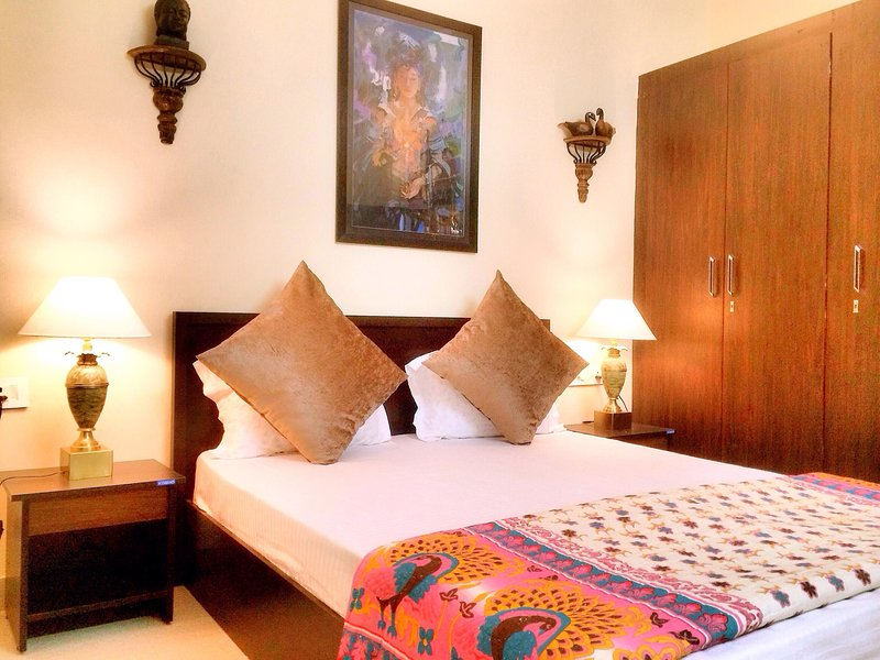 The Buddhayan Apartments 202, holiday rental in Jaipur District