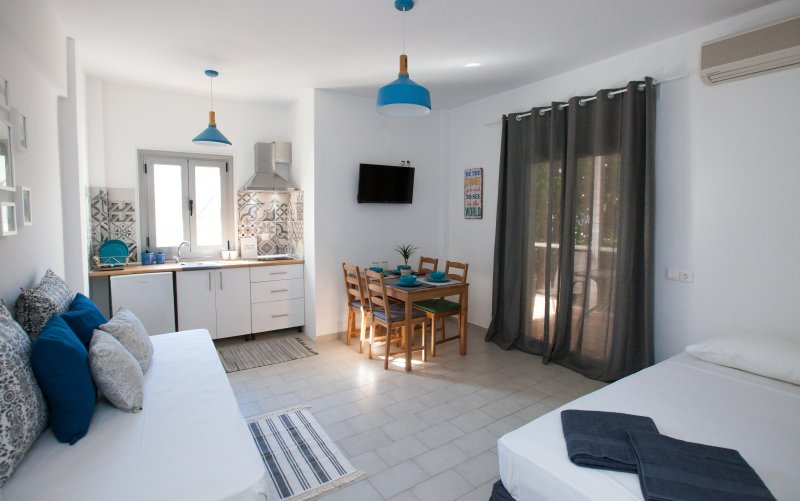 apartment with one bedroom, vacation rental in Pefkohori