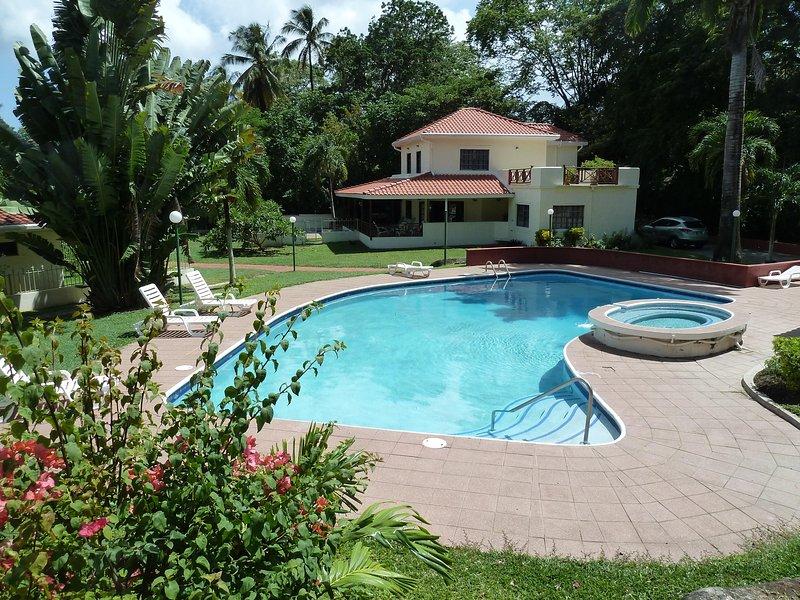 Mahogany from Garden above Pool