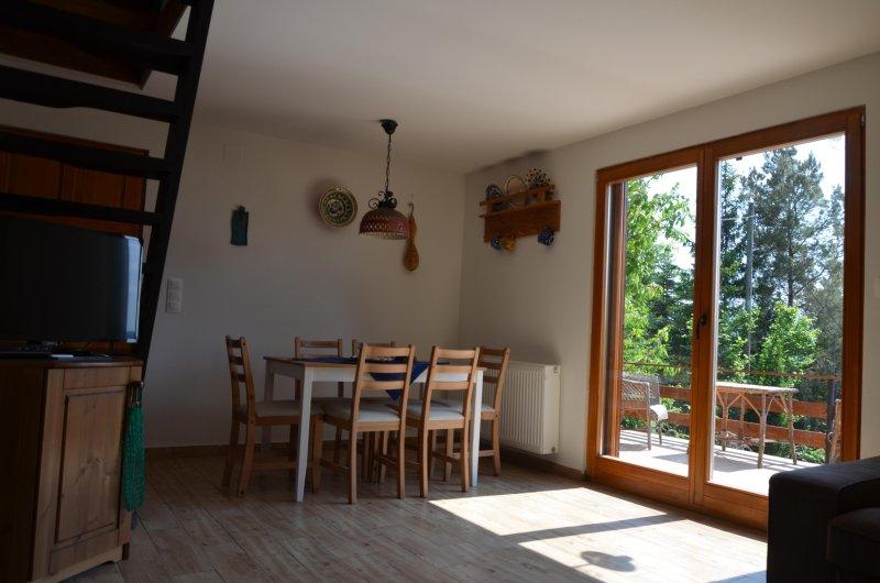 Casa del cervatillo, sala de estar