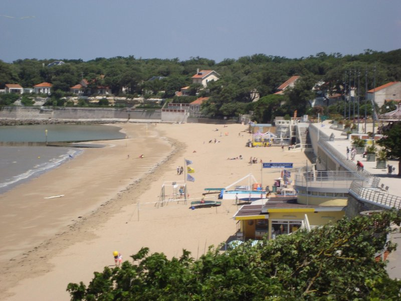 Beach at Fouras.