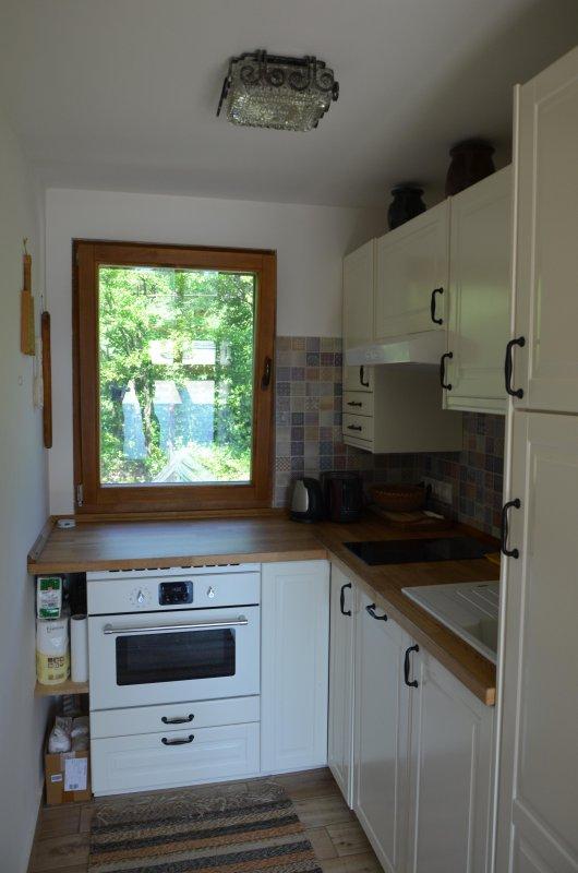 Casa del cervatillo, cocina