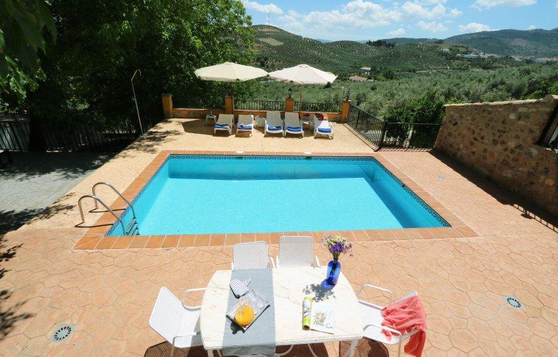 El Carmen, holiday rental in Zagrilla Alta
