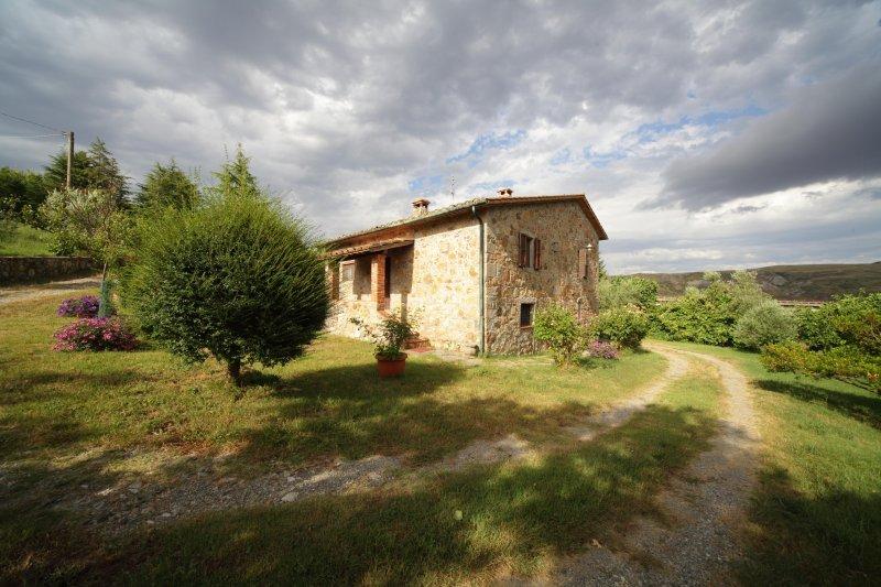 Casale in Val d'Orcia, Amiata, Fosso Bianco, alquiler de vacaciones en Abbadia San Salvatore