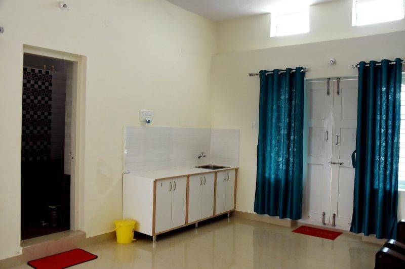 pequena cozinha no terceiro quarto