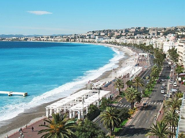 Strand Promenade des Anglais