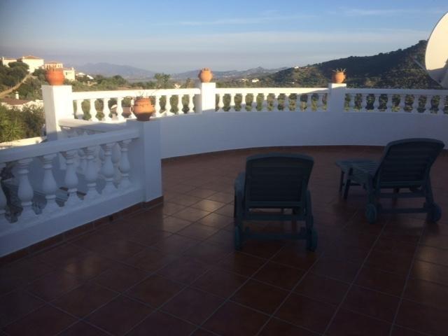terraza con vistas increíbles