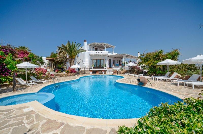 Villa Pari Manda, la piscina
