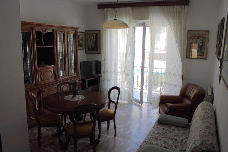 Living room with balcony. Living room with Balcony.