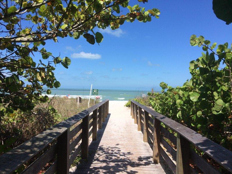Vanderbilt Beach... 200 steps away!