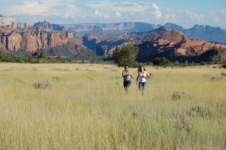 My daughter and her friend love to go the the Kolob Canyon area of Zion to enjoy the outdoors