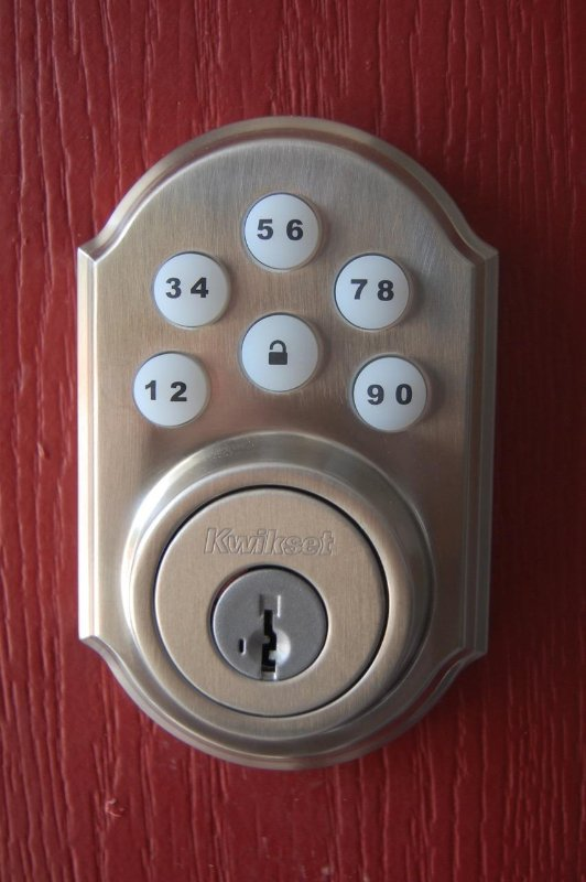 We use a keyless entry system that makes it so you can check in any time without having to get a key