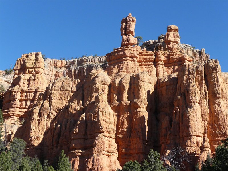 This is part of Bryce Canyon which is a couple hours from here