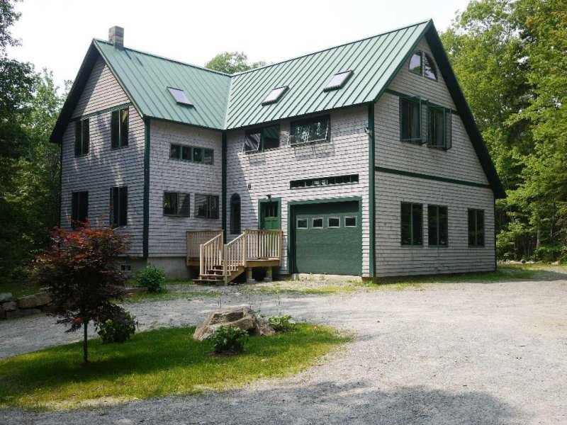 Norway House - modern post & beam -- discounted July 14 wk -- call us!, holiday rental in Bar Harbor