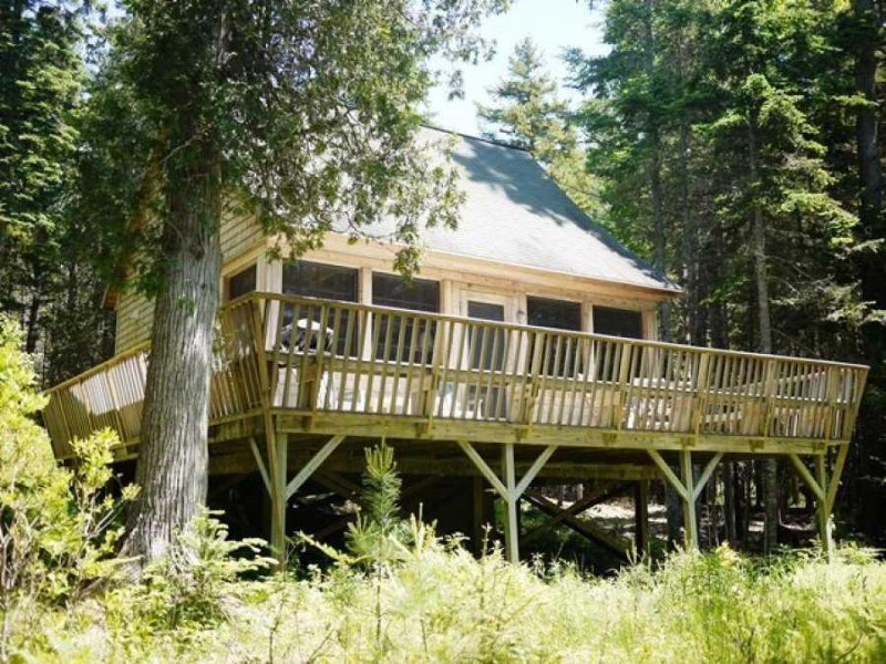 seal rock crafted cabin on the water near acadia and bar harbor rh tripadvisor com