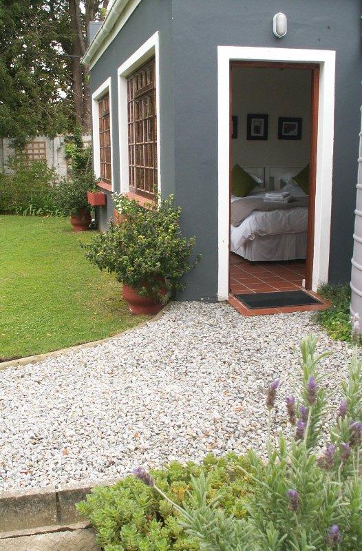 Entrée au Garden Cottage