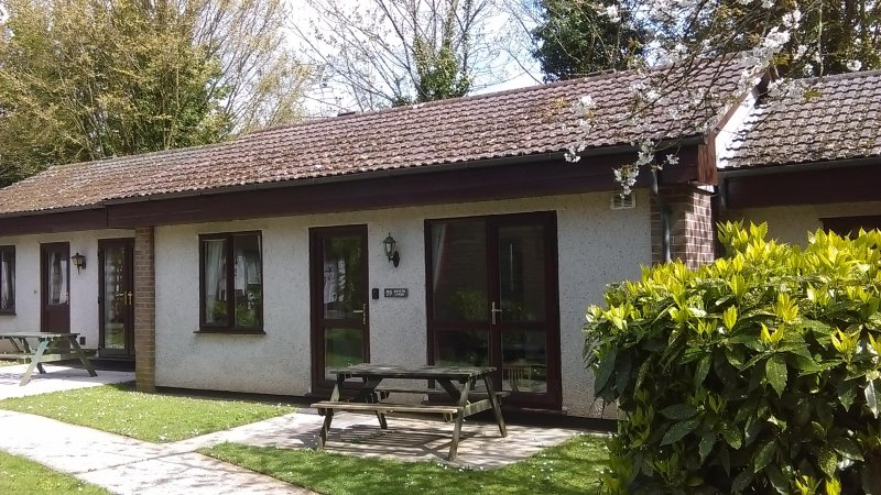 Close to Hayle & St Ives comfortable and quiet holiday lodge in beautiful Cornwall