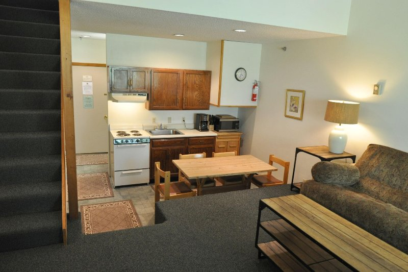 Living and Kitchen Areas