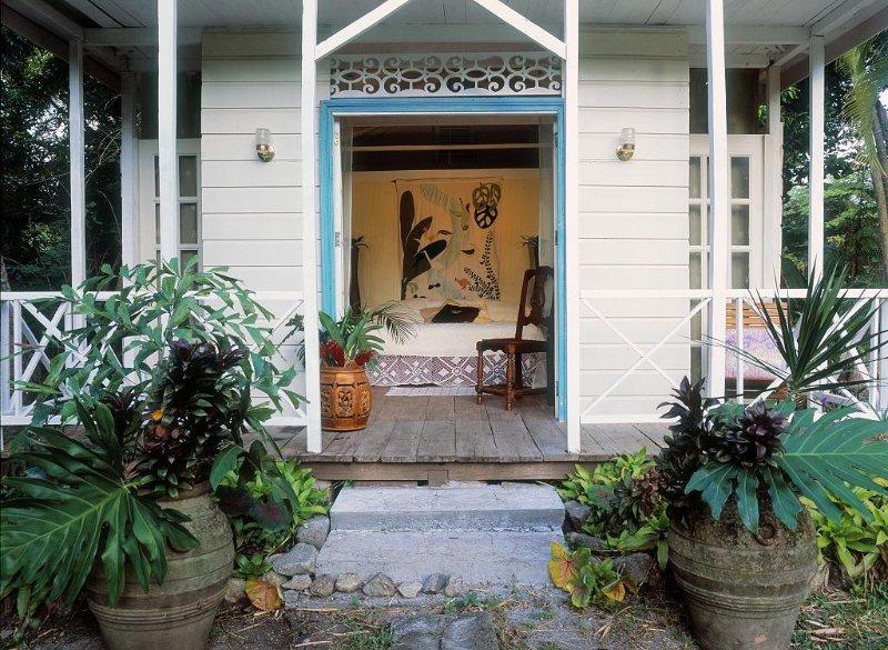 Frangipani entrance