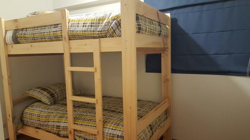 Letti A Castello Doppi.Private Bed Bunk Bed For 2 People In Spacious Apartment Near Lima