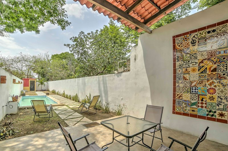 Find your own Mexican oasis at this gorgeous Merida vacation rental home!