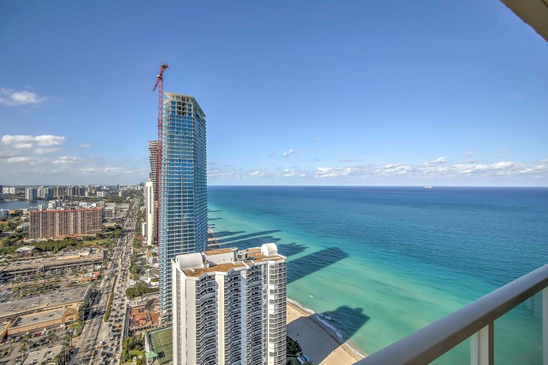Escape to pristine beaches and relaxation when you stay at  this 4-bedroom Sunny Isles Beach vacation rental penthouse!