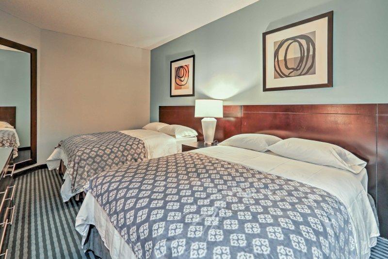 Sie sind sicher, viele friedliche schlummert in diesen 2 Queen-Size-Betten haben.