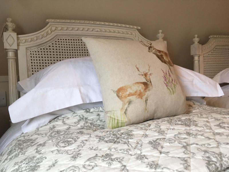 Duck & goose pillows and duvets.  100% cotton pillow and duvet covers.