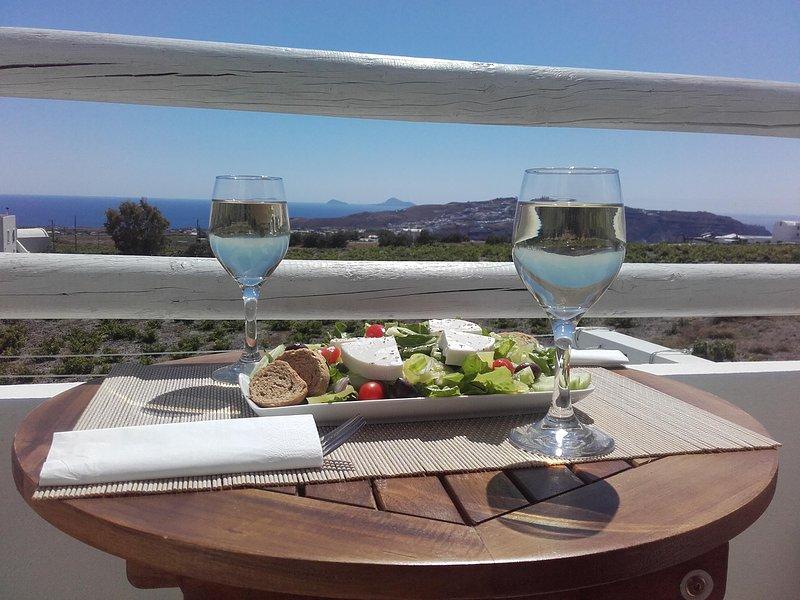 Vigneti Luxury Villa Loft Maisonette, location de vacances à Megalochori
