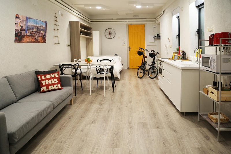 The Green Urban Loft - ecofriendly 5 star downtown apartment - Wifi + Free Bikes, holiday rental in Madrid