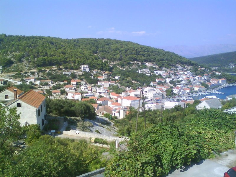 Stunning view apartment+ 2 terraces, stone house!, holiday rental in Gornji Humac