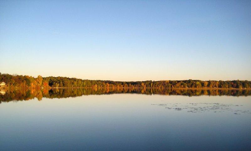 Vue sur le lac de Upper Deck