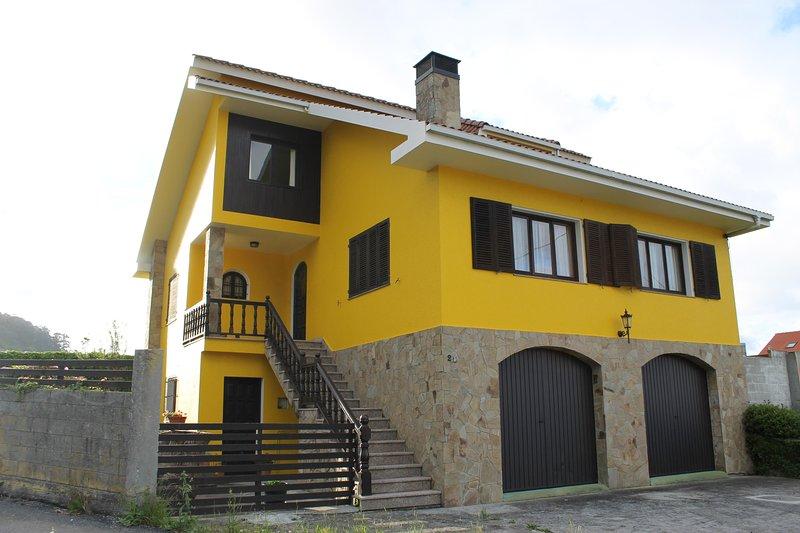 Alquiler casa rural en A Coruña, Canduas de Cabana de Bergantiños., holiday rental in Quintans