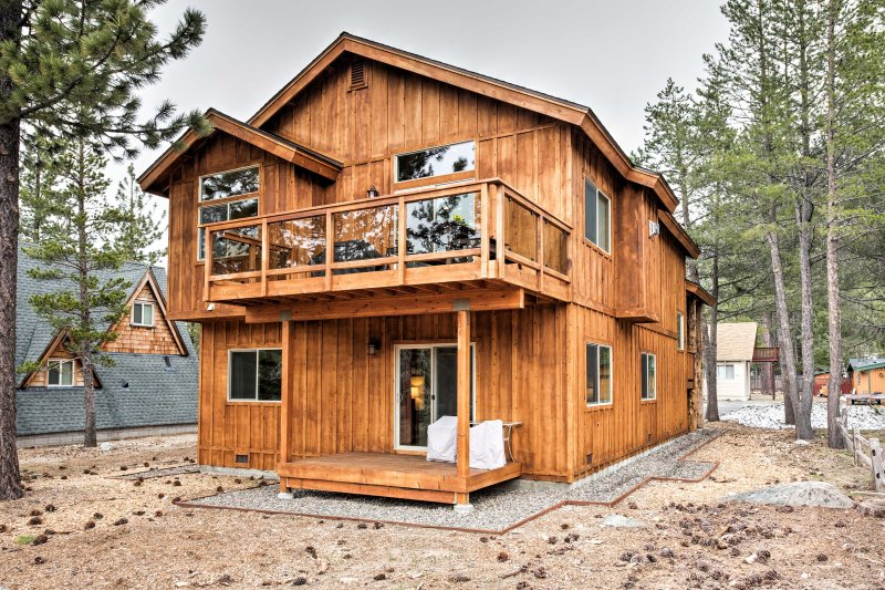 An epic South Lake Tahoe adventure awaits at this vacation rental house!