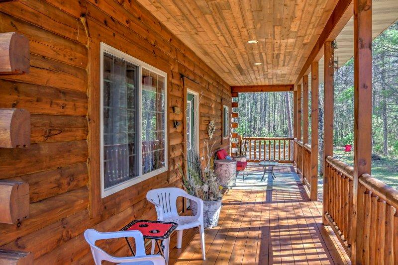 Ti piacerà passare pomeriggi in veranda!